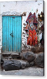 Colours Of Peru Acrylic Print by James Brunker