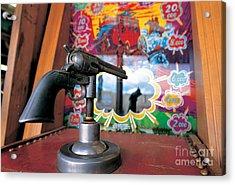 Colt Gun In Antiques Shop Acrylic Print by Adam Sylvester