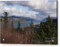 Acrylic Print featuring the photograph Columbia Gorge by Belinda Greb