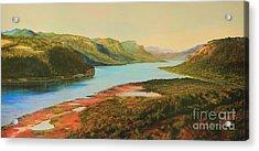 Columbia River Gorge Acrylic Print