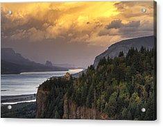 Columbia River Gorge Vista Acrylic Print