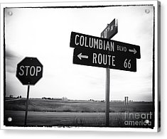 Columbian Boulevard Acrylic Print by John Rizzuto
