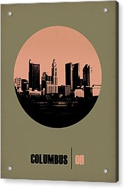 Columbus Circle Poster 1 Acrylic Print