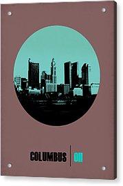 Columbus Circle Poster 2 Acrylic Print