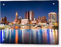 Columbus Ohio Acrylic Print