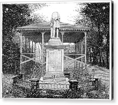 Columbus Statue Acrylic Print