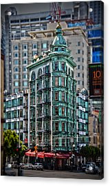 Columbus Tower In San Francisco Acrylic Print
