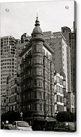 Acrylic Print featuring the photograph Columbus Tower San Francisco by Alex King