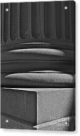 Column 1 Acrylic Print by Linda Bianic