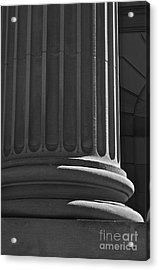 Column 2 Acrylic Print by Linda Bianic