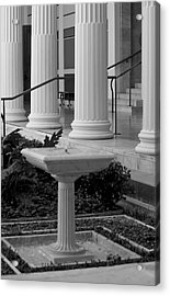 Column Entrance Acrylic Print by Ivete Basso Photography