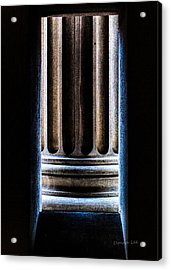 Column Number Nine  Acrylic Print