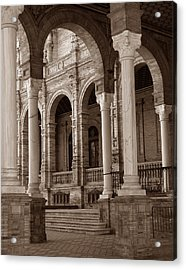 Columns And Arches Acrylic Print