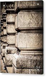 Columns Acrylic Print by Elena Elisseeva