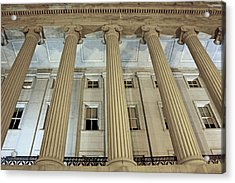 Acrylic Print featuring the photograph Columns Of History by Suzanne Stout