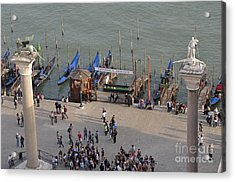 Columns Of San Marco Left And San Teodoro Acrylic Print