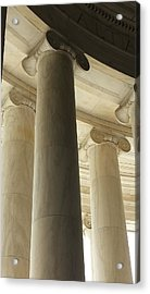 Columns Stand Guard Acrylic Print