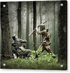 Combat Acrylic Print