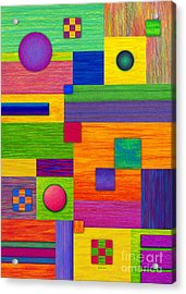 Combination Acrylic Print by David K Small
