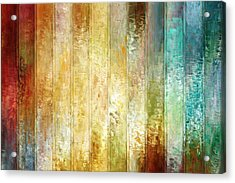 Come A Little Closer - Abstract Art Acrylic Print by Jaison Cianelli