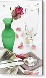 Come Dine With Me Acrylic Print by Donald Davis