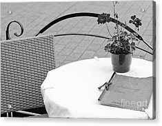 Come Dine With Me Acrylic Print by Pati Photography