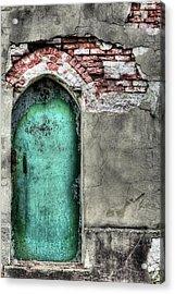 Come In Acrylic Print by JC Findley