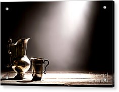 Come Let Us Drink About Acrylic Print by Olivier Le Queinec