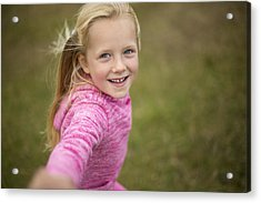Come Play With Me! Acrylic Print by SolStock