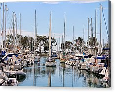 Come Sail Away Acrylic Print by Tammy Espino