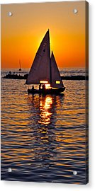 Come Sail Away With Me Acrylic Print by Frozen in Time Fine Art Photography