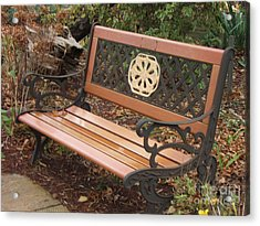 Come Sit Acrylic Print by Margaret McDermott