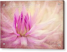 Come Spring Acrylic Print by Beve Brown-Clark Photography