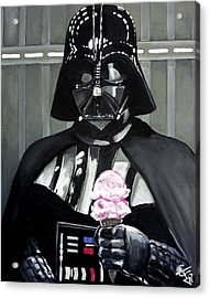 Come To The Dark Side... We Have Ice Cream. Acrylic Print