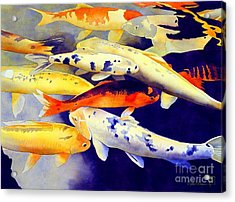 Come Together Acrylic Print by Robert Hooper