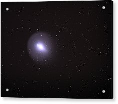 Acrylic Print featuring the photograph Comet 17p - Holmes by Chuck Caramella
