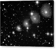 Comet 29p Schwassmann-wachmann Acrylic Print by Damian Peach