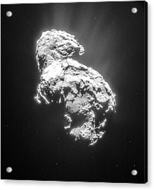 Comet 67pchuryumov-gerasimenko Acrylic Print