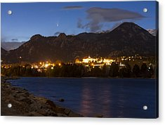 Acrylic Print featuring the photograph Comet Panstarrs by Perspective Imagery