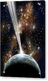 Comet Strike Acrylic Print