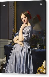 Cometesse D' Haussonville Acrylic Print by Mountain Dreams