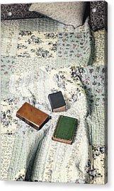 Comfy Reading Time Acrylic Print by Joana Kruse