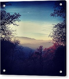 Comin' Down The Mountain Acrylic Print