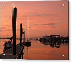 Acrylic Print featuring the photograph Just Rosy by Laura Ragland