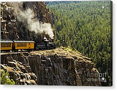 Coming Around The Bend Acrylic Print by Scott Pellegrin