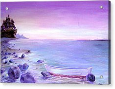 Coming Ashore Acrylic Print