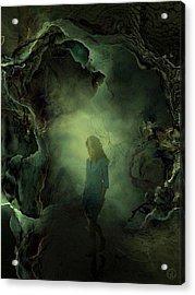 Coming Back From Dreamland Acrylic Print by Gun Legler