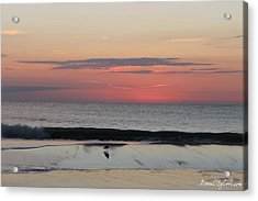 Acrylic Print featuring the photograph Coming Dawn by Robert Banach
