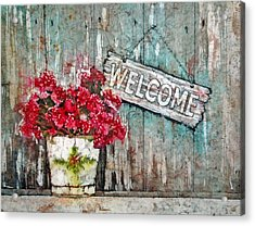 A Warm Welcome Acrylic Print