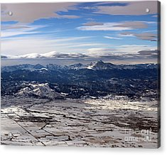 Coming Home To Colorado Springs Acrylic Print